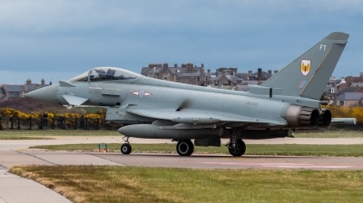 Photo ID 203397 by Mike Macdonald. UK Air Force Eurofighter Typhoon FGR4, ZK330