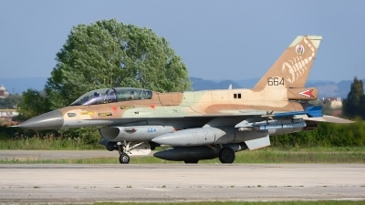 Photo ID 203440 by Stephan Franke - Fighter-Wings. Israel Air Force General Dynamics F 16D Fighting Falcon, 664