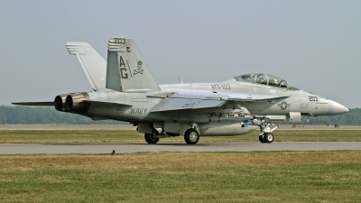 Photo ID 203455 by David F. Brown. USA Navy Boeing F A 18F Super Hornet, 166613