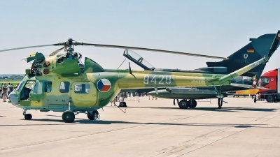 Photo ID 203619 by Radim Spalek. Czech Republic Air Force Mil Mi 2 Rch, 9428
