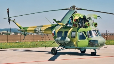 Photo ID 203618 by Radim Spalek. Czech Republic Air Force Mil Mi 2 Rch, 9428