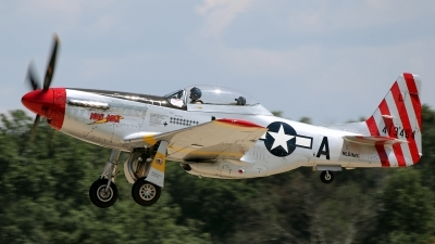 Photo ID 203549 by David F. Brown. Private Private North American P 51D Mustang, N51MX