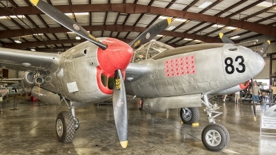 Photo ID 203815 by W.A.Kazior. Private Planes of Fame Air Museum Lockheed P 38L Lightning, N505MH