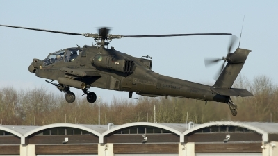 Photo ID 203511 by Robert Flinzner. Netherlands Air Force Boeing AH 64DN Apache Longbow, Q 18