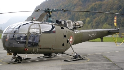 Photo ID 203606 by Sven Zimmermann. Switzerland Air Force Aerospatiale SA 316B Alouette III, V 282