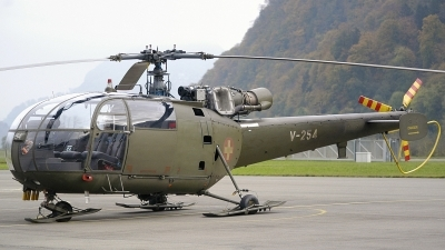 Photo ID 203605 by Sven Zimmermann. Switzerland Air Force Aerospatiale SA 316B Alouette III, V 254