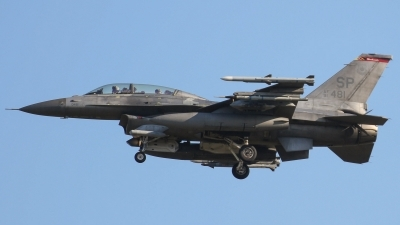 Photo ID 203559 by Adrian Stürmer. USA Air Force General Dynamics F 16D Fighting Falcon, 91 0481