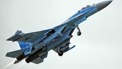 Photo ID 203635 by flyer1. Ukraine Air Force Sukhoi Su 27S,