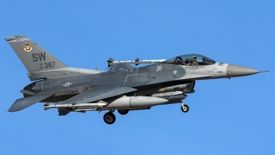 Photo ID 203782 by Thomas Ziegler - Aviation-Media. USA Air Force General Dynamics F 16C Fighting Falcon, 91 0387