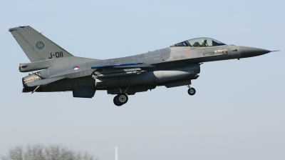 Photo ID 203894 by Arie van Groen. Netherlands Air Force General Dynamics F 16AM Fighting Falcon, J 011