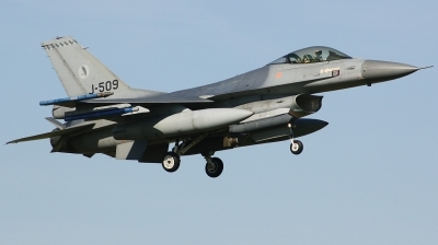 Photo ID 203888 by Arie van Groen. Netherlands Air Force General Dynamics F 16AM Fighting Falcon, J 509