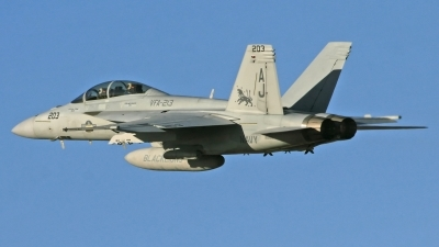 Photo ID 203834 by David F. Brown. USA Navy Boeing F A 18F Super Hornet, 166681