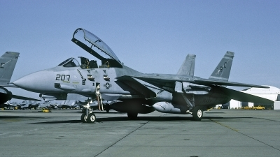 Photo ID 203867 by David F. Brown. USA Navy Grumman F 14A Tomcat, 159610