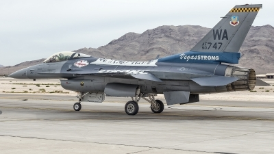 Photo ID 204051 by W.A.Kazior. USA Air Force General Dynamics F 16C Fighting Falcon, 90 0747
