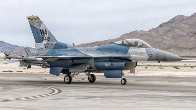 Photo ID 204049 by W.A.Kazior. USA Air Force General Dynamics F 16C Fighting Falcon, 85 1418