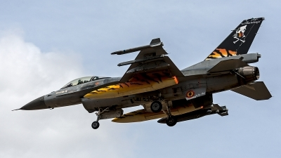Photo ID 203966 by Jan Eenling. Belgium Air Force General Dynamics F 16AM Fighting Falcon, FA 94