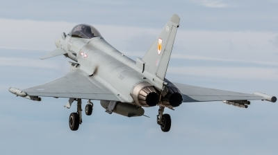 Photo ID 203970 by Mike Macdonald. UK Air Force Eurofighter Typhoon FGR4, ZK329