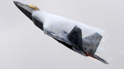 Photo ID 204023 by Lukas Kinneswenger. USA Air Force Lockheed Martin F 22A Raptor, 09 4180