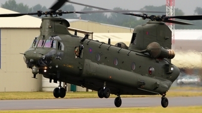 Photo ID 204013 by Lukas Kinneswenger. UK Air Force Boeing Vertol Chinook HC2 CH 47D, ZA675