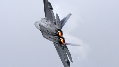 Photo ID 204014 by Lukas Kinneswenger. USA Air Force Lockheed Martin F 22A Raptor, 09 4180