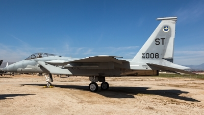 Photo ID 204110 by Thomas Ziegler - Aviation-Media. USA Air Force McDonnell Douglas F 15A Eagle, 76 0008