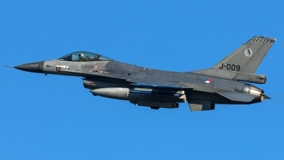 Photo ID 204088 by Thomas Ziegler - Aviation-Media. Netherlands Air Force General Dynamics F 16AM Fighting Falcon, J 009