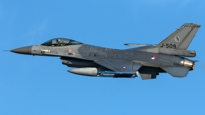 Photo ID 204087 by Thomas Ziegler - Aviation-Media. Netherlands Air Force General Dynamics F 16AM Fighting Falcon, J 509
