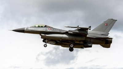 Photo ID 204128 by Jan Eenling. Denmark Air Force General Dynamics F 16AM Fighting Falcon, E 602