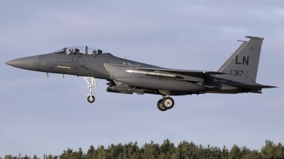 Photo ID 204166 by Chris Lofting. USA Air Force McDonnell Douglas F 15E Strike Eagle, 91 0317