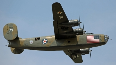 Photo ID 204132 by David F. Brown. Private Commemorative Air Force Consolidated B 24 RLB 30 Liberator I, N24927