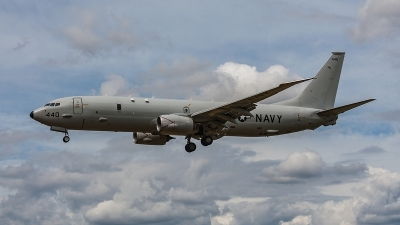 Photo ID 204405 by Jan Eenling. USA Navy Boeing P 8A Poseidon 737 800ERX, 168440