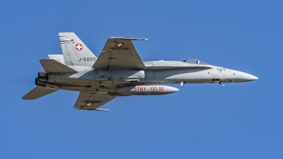 Photo ID 204261 by Martin Thoeni - Powerplanes. Switzerland Air Force McDonnell Douglas F A 18C Hornet, J 5009