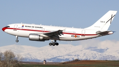 Photo ID 204229 by Ruben Galindo. Spain Air Force Airbus A310 304, T 22 2