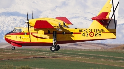 Photo ID 204230 by Ruben Galindo. Spain Air Force Canadair CL 215T, UD 13 25