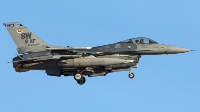 Photo ID 204401 by Thomas Ziegler - Aviation-Media. USA Air Force General Dynamics F 16C Fighting Falcon, 94 0049