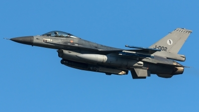 Photo ID 204356 by Thomas Ziegler - Aviation-Media. Netherlands Air Force General Dynamics F 16AM Fighting Falcon, J 002