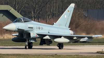 Photo ID 204316 by Thomas Ziegler - Aviation-Media. Germany Air Force Eurofighter EF 2000 Typhoon S, 31 39