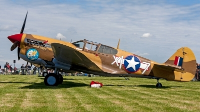 Photo ID 204303 by Jan Eenling. Private The Fighter Collection Curtiss P 40F Warhawk, G CGZP