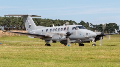 Photo ID 213323 by Mike Macdonald. UK Air Force Beech Shadow R1 Super King Air 350ER, ZZ504
