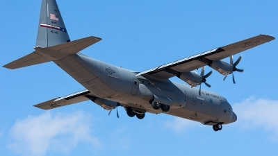 Photo ID 204377 by Adolfo Bento de Urquia. USA Air Force Lockheed Martin C 130J 30 Hercules L 382, 11 5748