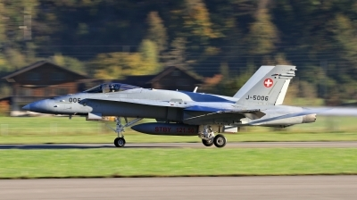 Photo ID 204380 by Milos Ruza. Switzerland Air Force McDonnell Douglas F A 18C Hornet, J 5006