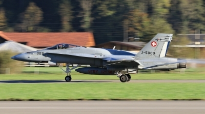 Photo ID 204379 by Milos Ruza. Switzerland Air Force McDonnell Douglas F A 18C Hornet, J 5009