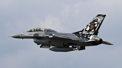 Photo ID 204378 by Milos Ruza. Belgium Air Force General Dynamics F 16BM Fighting Falcon, FB 24