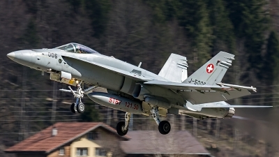 Photo ID 204557 by Thomas Ziegler - Aviation-Media. Switzerland Air Force McDonnell Douglas F A 18C Hornet, J 5006