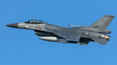 Photo ID 204480 by Thomas Ziegler - Aviation-Media. Netherlands Air Force General Dynamics F 16AM Fighting Falcon, J 871
