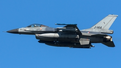 Photo ID 204478 by Thomas Ziegler - Aviation-Media. Netherlands Air Force General Dynamics F 16AM Fighting Falcon, J 144