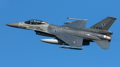 Photo ID 204479 by Thomas Ziegler - Aviation-Media. Netherlands Air Force General Dynamics F 16AM Fighting Falcon, J 632