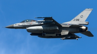 Photo ID 204524 by Thomas Ziegler - Aviation-Media. Netherlands Air Force General Dynamics F 16AM Fighting Falcon, J 016