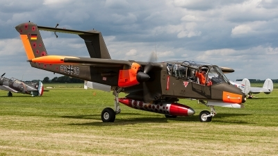Photo ID 204584 by Jan Eenling. Private Bronco Demo Team North American Rockwell OV 10B Bronco, G ONAA