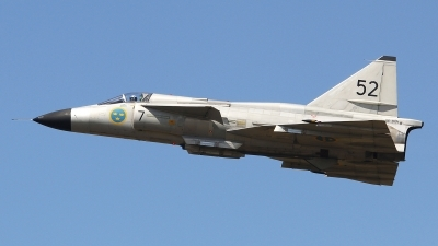 Photo ID 204567 by Ruben Galindo. Private Swedish Air Force Historic Flight Saab AJS37 Viggen, SE DXN